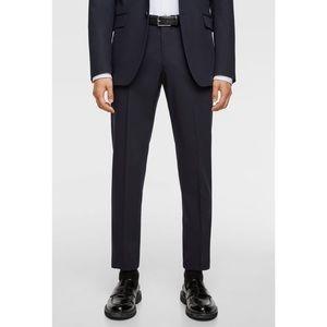 Zara Man slim fit trousers
